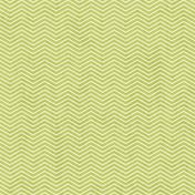 Chevron 02 Paper- Green & White