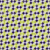 Gingham Paper- Purple & Green