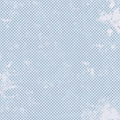 Grid 11 Paper- Distressed- Blue & White