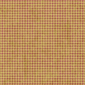 Houndstooth 01 Paper- Pink & Green
