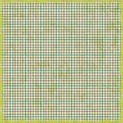 Grid Paper 18- Green & Blue