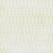 Damask 25 Paper- Green & White