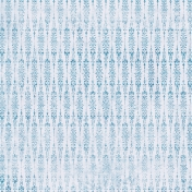 Damask 25 Paper- Blue & White