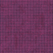 Houndstooth 01 Paper- Pink & Purple