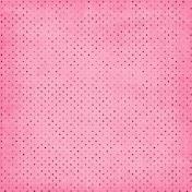 Pink Black Polka Dots