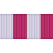 Thin Ribbon- Stripes 01- Lilac & Pink