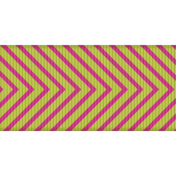 Fat Ribbon- Chevron 01- Pink & Green