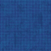 Houndstooth 01 Paper- Blue & Purple