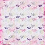 Butterflies 02 Paper- Pink & Purple