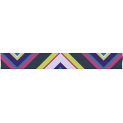 Chevron Washi Tape- Blue & Purple