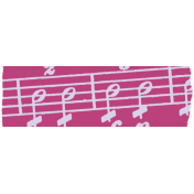Music Note Washi Tape- Pink