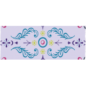 Purple Decorative Washi Tape