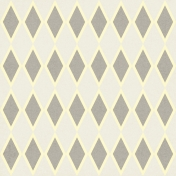 Argyle 26 Paper- Gray & Cream