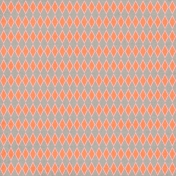 Argyle 26 Paper- Orange, Gray & Pink