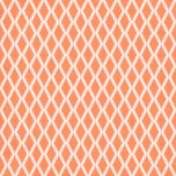 Argyle 27 Paper- Cream, Pink & Orange
