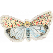 Distressed Butterfly Ephemera 04