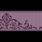 Medium Ribbon- Ornamental 01- Purple