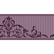 Medium Ribbon- Ornamental 01- Purple