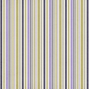 Stripes 33 Paper- Green & Purple