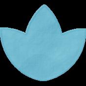 Vienna Paper Flower 02- Blue