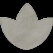 Vienna Paper Flower 02- Gray
