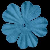 Dark Blue Flower