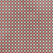Polka Dots 43 Paper- Mint & Red