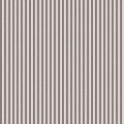 Stripes 54 Paper- Gray & White
