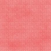Love Me Glitter Paper- Circles- Pink