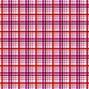 Red Purple Plaid