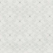 Damask 03 Paper- White