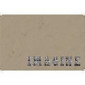 Chipboard Imagine Journal Card