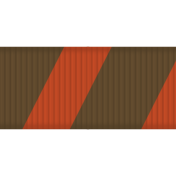 Medium Ribbon- Stripes 01- Red & Brown