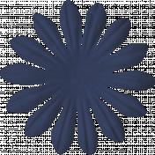 Paper Flower 01- Blue