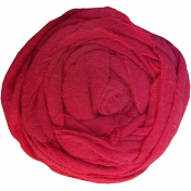 Pink Fabric Flower
