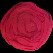 Pink Fabric Flower