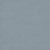 Chevron 05 Paper- Navy & White