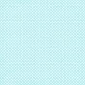 Polka Dots 46 Paper- Blue & White