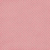 Polka Dots 46 Paper- Coral & White