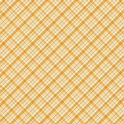 Plaid 34 Paper - Yellow & White