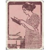 Vintage Kitchen Journal Card 01