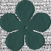Paper Flower 09- Teal 2