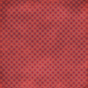 Kitchen Gingham Paper- Purple & Red