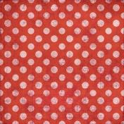 Polka Dots 35 Paper- Coral & Pink