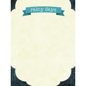 Rainy Days Journal Card 02