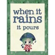 Rainy Days Journal Card 08