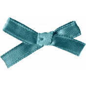 Rainy Days- Blue Ribbon Bow