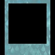 Rainy Days- Light Blue Frame