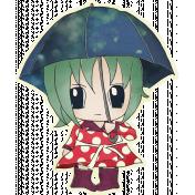 Rainy Days- Umbrella Girl