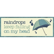 Rainy Days- Word Tag